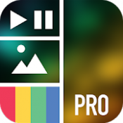 Androidアプリ「Vidstitch Pro - Video Collage」のアイコン