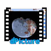 Androidアプリ「dPicture」のアイコン
