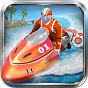 Androidアプリ「パワーボートレーシング 3D - Powerboat」のアイコン