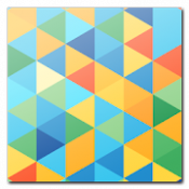 Androidアプリ「TRIANGLE MOSAIC」のアイコン
