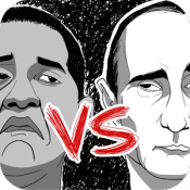 Androidアプリ「オバマとプーチン」のアイコン