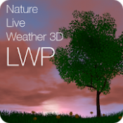Androidアプリ「Nature Live Weather 3D LWP」のアイコン