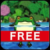 Androidアプリ「跳び続けるカエルたち ライブ壁紙 (体験版)」のアイコン
