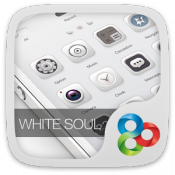 Androidアプリ「White Soul GO Launcher Theme」のアイコン