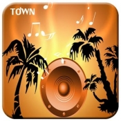 Androidアプリ「歌TOWN」のアイコン