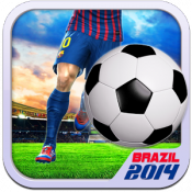 Androidアプリ「Real Football 2014 Brazil FREE」のアイコン