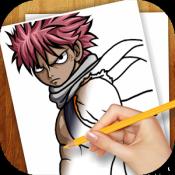 Androidアプリ「アニメ漫画を描くことを学ぶ」のアイコン