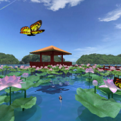 Androidアプリ「水の庭園360°」のアイコン