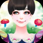 Androidアプリ「きのこガーリー かわいいおしゃれな乙女向けゲームで運試し!」のアイコン