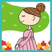 Androidアプリ「プレママカレンダー ウィズ(妊娠出産管理)」のアイコン