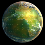 Androidアプリ「Earth Viewer」のアイコン