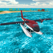 Androidアプリ「Sea Plane: Flight Simulator 3D」のアイコン