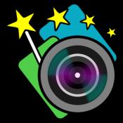 Androidアプリ「らくらく合成カメラPro」のアイコン