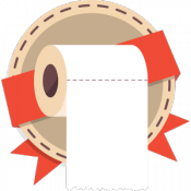Androidアプリ「Make It Roll: WC paper rain」のアイコン