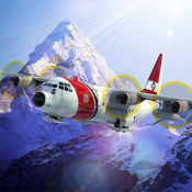 Androidアプリ「Airplane Mount Everest」のアイコン