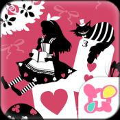 Androidアプリ「アリス&チェシャ猫 壁紙」のアイコン