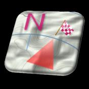 Androidアプリ「GeoCompass GPS 地図 コンパス」のアイコン
