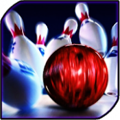 Androidアプリ「Bowling Game 3D」のアイコン