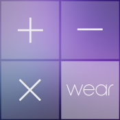 Androidアプリ「Crystal Calculator with Wear」のアイコン