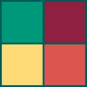 Androidアプリ「2048 カラーマッチ」のアイコン
