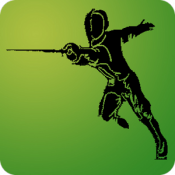 Androidアプリ「Riposte for fencing referees」のアイコン