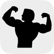 Androidアプリ「Fitness Point - ワークアウト日誌」のアイコン