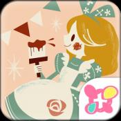Androidアプリ「キュート壁紙 アリスとハートのお城」のアイコン