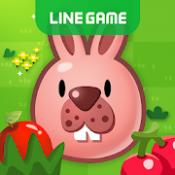 Androidアプリ「LINE ポコポコ - うさぎのポコタとクローバーやチェリーを集めろ!ダンジョンでも遊べる無料パズル」のアイコン