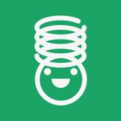 Androidアプリ「ばね|本物のばねのように伸び縮み!子供向け無料知育アプリ」のアイコン