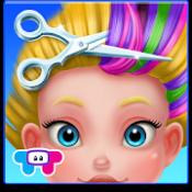 Androidアプリ「楽しいヘアサロン-女の子の変身」のアイコン