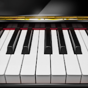 Androidアプリ「ピアノ  -  ぴあの 鍵盤 リアル 曲 げーむ」のアイコン