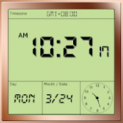 Androidアプリ「旅行目覚まし時計」のアイコン