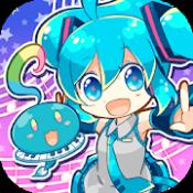 Androidアプリ「初音ミクぐらふぃコレクション なぞの音楽すい星」のアイコン