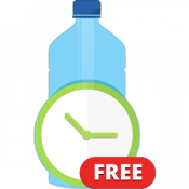 Androidアプリ「Aqualert:体の水分バランスを整える 水治療法 水療法」のアイコン