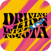 Androidアプリ「DRIVING KIDS with TOYOTA」のアイコン
