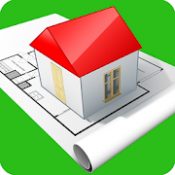 Androidアプリ「Home Design 3D」のアイコン