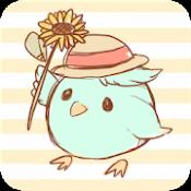 Androidアプリ「Tweecha Lite 方言版 - 無料で時間順・時刻表示で今1番人気のTwitterクライアント」のアイコン