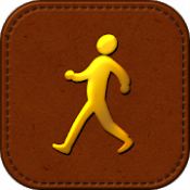 Androidアプリ「歩いてコレクション-楽しく痩せるシンプル歩数計ゲーム」のアイコン