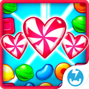 Androidアプリ「キャンディブラストマニア・バレンタイン」のアイコン