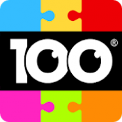 Androidアプリ「100 PICS Puzzles ジグソーパズル」のアイコン