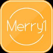 Androidアプリ「完全無料友達チャットアプリ メリル」のアイコン