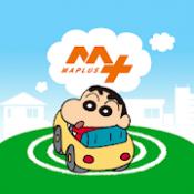 Androidアプリ「MAPLUSキャラdeナビ 地図・カーナビ・渋滞情報が無料」のアイコン