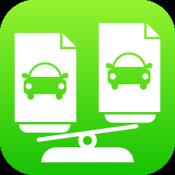 Androidアプリ「自動車保険は比較で安くなる!」のアイコン