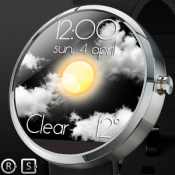 Androidアプリ「Weather Animate for Watchmaker」のアイコン