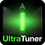 Androidアプリ「UltraTuner - Chromatic Tuner」のアイコン