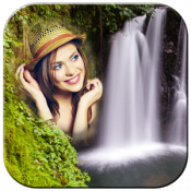 Androidアプリ「Waterfall Photo Frames」のアイコン