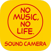 Androidアプリ「NO MUSIC, NO LIFE.SOUND CAMERA」のアイコン
