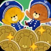 Androidアプリ「メダル落とし - がんばれ!ルルロロ」のアイコン