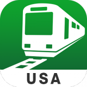 Androidアプリ「Transit USA by NAVITIME」のアイコン