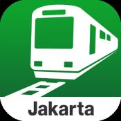 Androidアプリ「Transit ジャカルタ KRL by NAVITIME」のアイコン